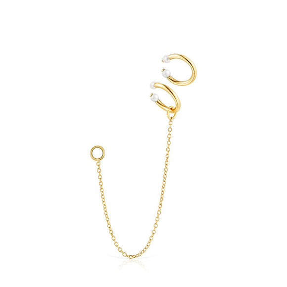 Tous Batala Earcuff Pack in Gold Vermeil with Pearl 918543680