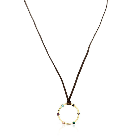 Tous Glory Necklace in Gold Vermeil with Gemstones 918594510