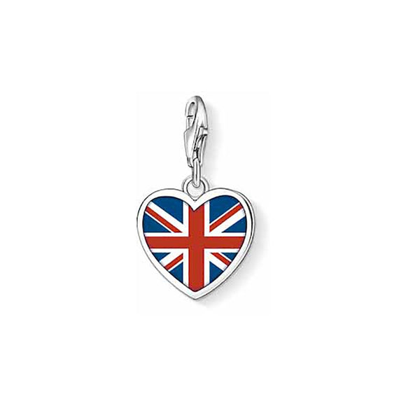 Thomas Sabo Brit Heart Charm 1070-007-10