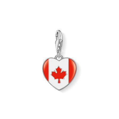 "Thomas Sabo Charm ""Flag Medallion"" 1180-007-10"