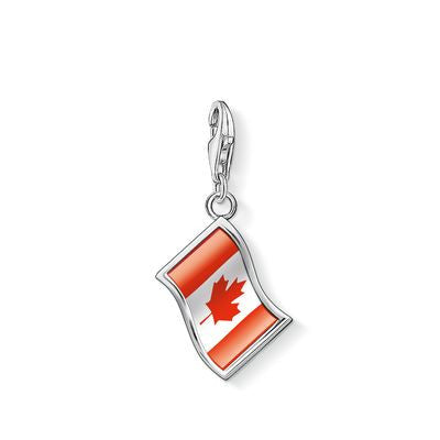 "Thomas Sabo Charm ""Flag"" 1182-603-10"