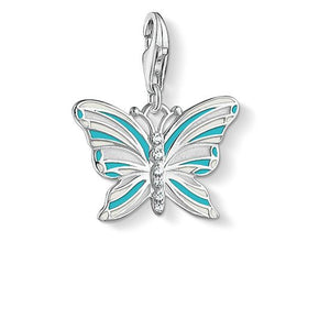 "Thomas Sabo Charm Pendant ""Butterfly"" 1515-041-17"