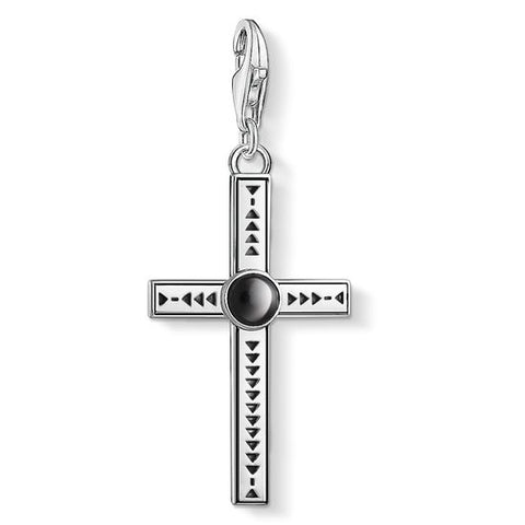 "THOMAS SABO CHARM PENDANT ""ETHNIC CROSS"" 1678-698-11"