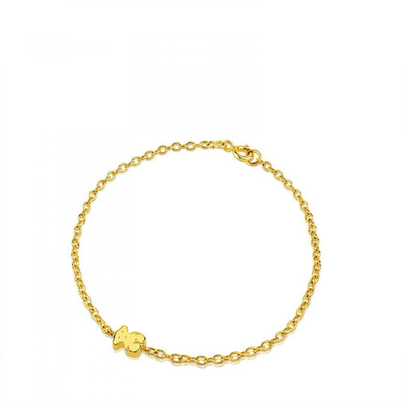 Tous Gold Sweet Dolls Bracelet 314831000