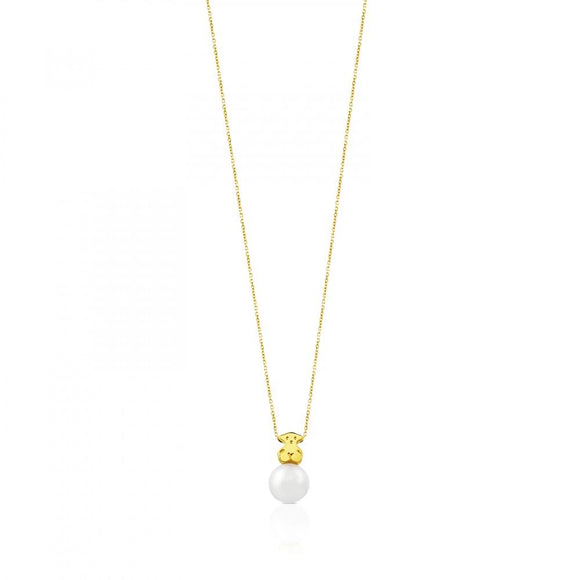 Tous Gold Sweet Dolls Necklace 314832000