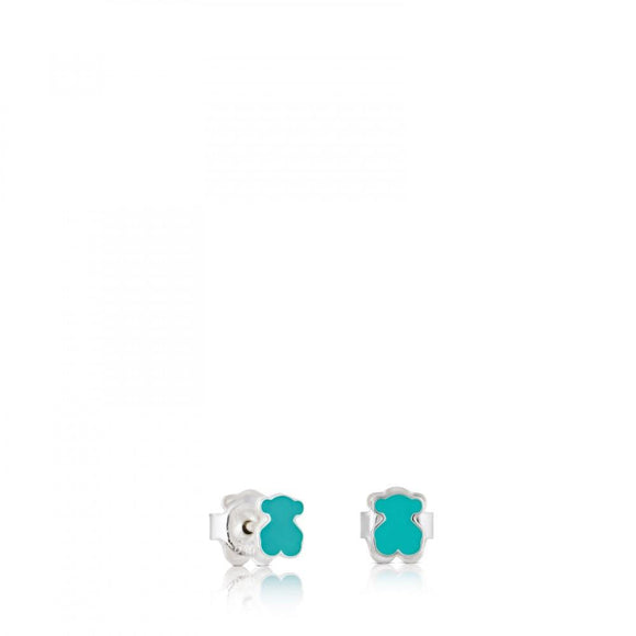 Tous Silver Muffin Earrings 413213500