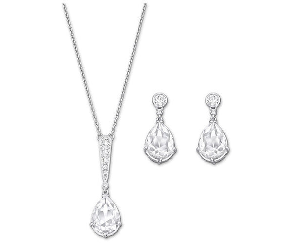 Swarovski Vintage Set White Rhodium Plating 5062148