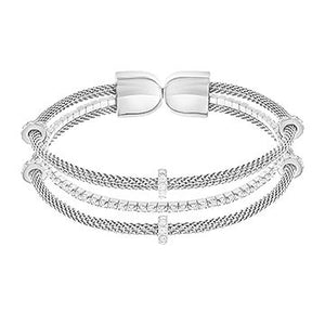 Swarovski White Gate Bangle 5252865