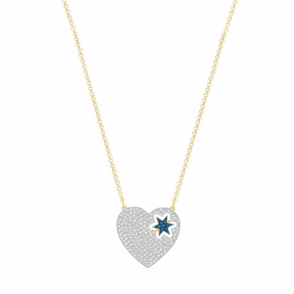 Swarovski Necklace Gold Star 5273328