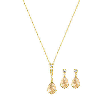 SWAROVSKI Vintage Set Golden Gold Plating 5278349
