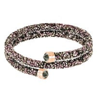 Swarovski Crystaldust Double Bangle, Multi-colored 5348102