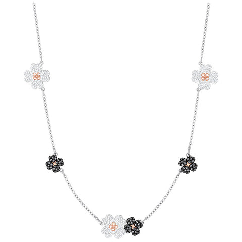Swarovski Latisha Choker, Multi-colored, Mixed plating 5389491