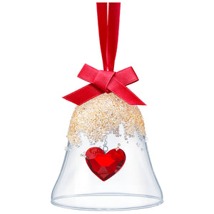 Swarovski Christmas Bell Ornament, Heart 5464881