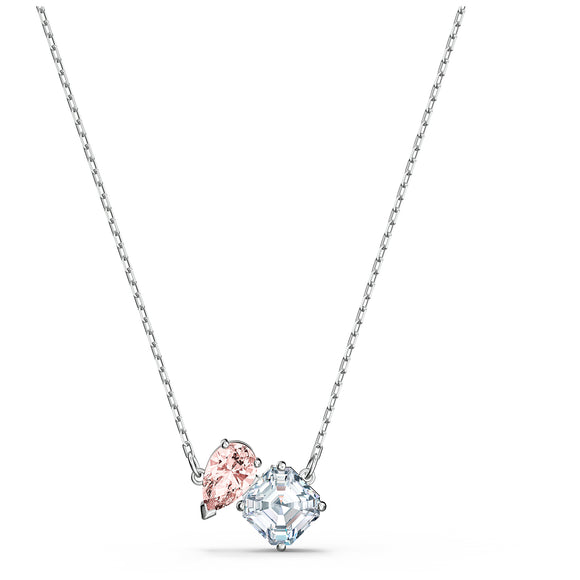 Swarovski Attract Soul Necklace, Pink, Rhodium plated 5517115