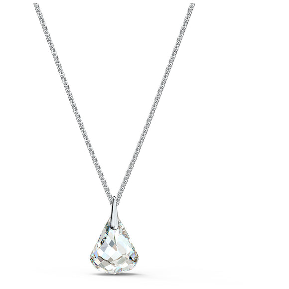 Swarovski Spirit Pendant, White, Rhodium plated 5521769