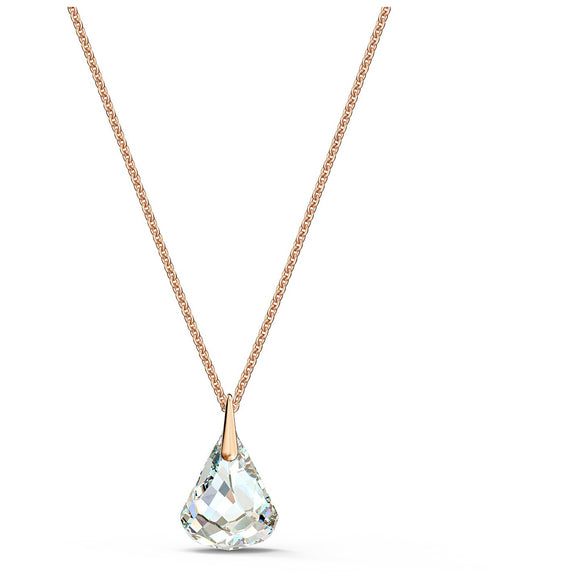 Swarovski Spirit Pendant, White, Rose-gold tone plated 5529125