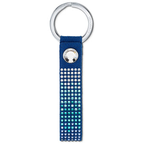 Swarovski Anniversary Key Ring, Blue, Stainless steel 5533070