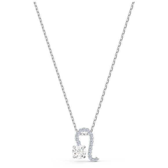 Swarovski Zodiac II Pendant, Leo, White, Mixed metal finish 5563894