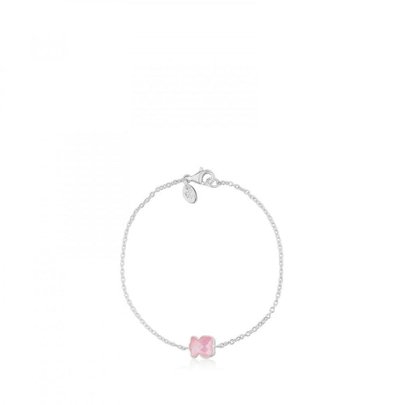 Tous Silver Color Bracelet with Quartz 615431660
