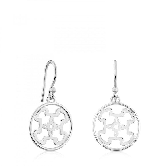 Tous Silver Mossaic Earrings 618203510