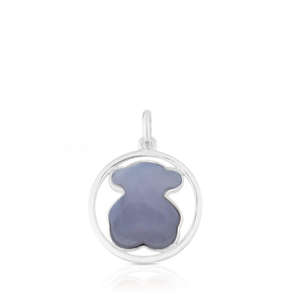 Tous Silver Camille Pendant with Chalcedony 712164580
