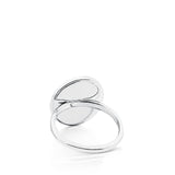 Tous Silver Camee Ring with Mother-of-Pearl 712325601