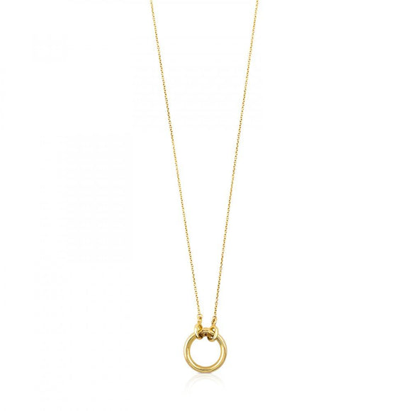 Tous Gold Hold Necklace 712342000