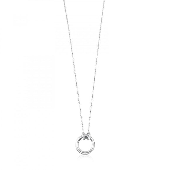 Tous Silver Hold Necklace 712342500