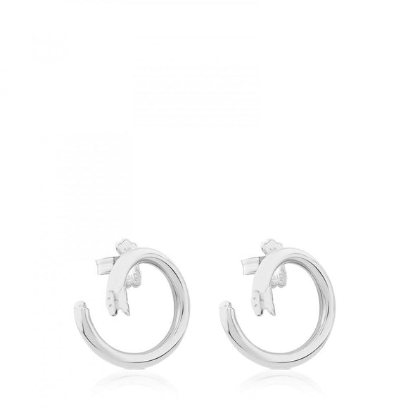 Tous Medium Silver Hold Earrings 712343530