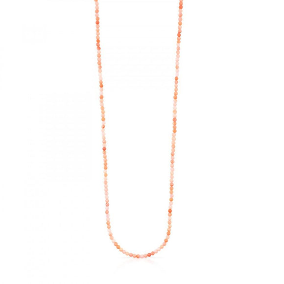 Tous Rose Vermeil Silver Camille Necklace with Quartzite 812162500