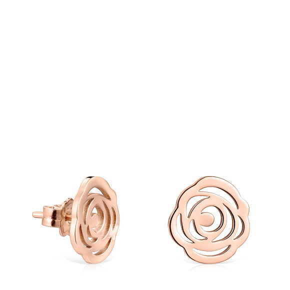 Tous  Rose Gold Vermeil Rosa de Abril Earrings 815033510