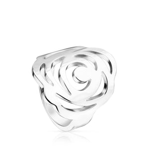 Tous Silver Rosa de Abril Ring 815035521