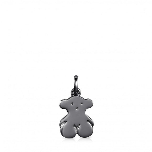 Tous Dark Silver Sweet Dolls bear Pendant 818024540