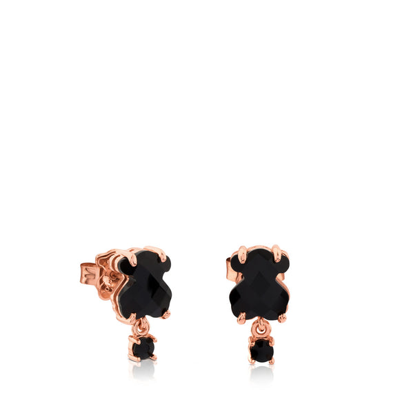 Tous Rose Vermeil Silver Erma Earrings 513633510