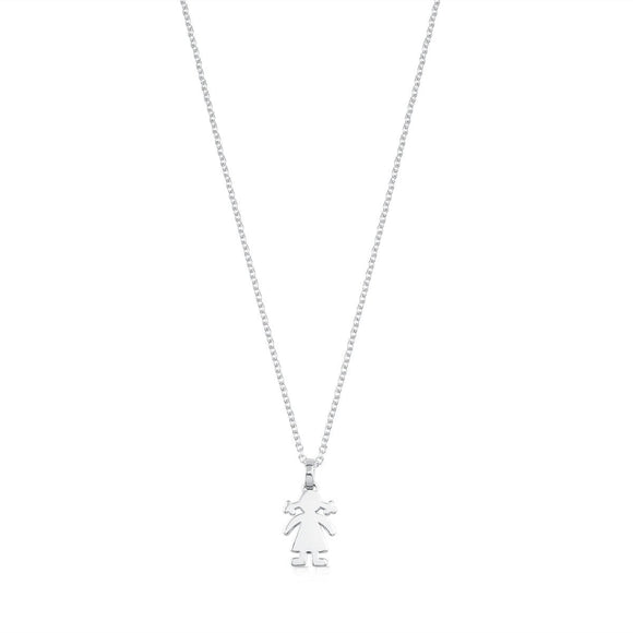 Tous Silver Sweet Dolls Necklace 415904660