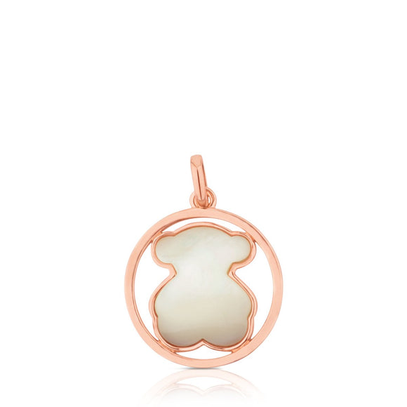 Tous Rose Vermeil Silver Camille Pendant with Mother-of-Pearl 712164610