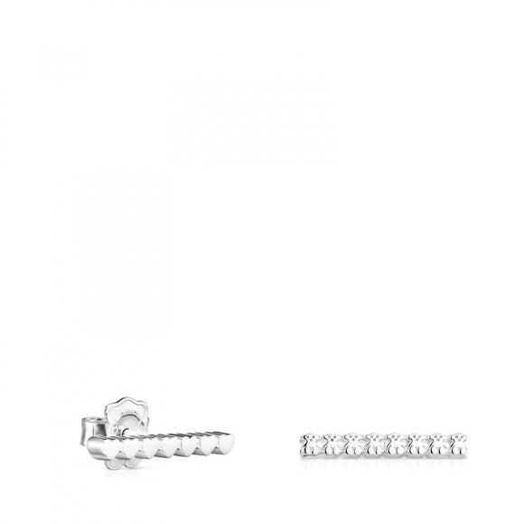 Tous Silver Straight bar Earrings 912723560