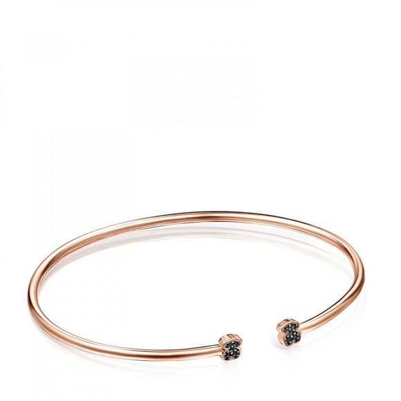 Tous Rose Gold Vermeil Motif Bracelet with Spinels 914931500