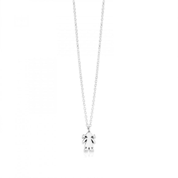 Tous Silver Sweet Dolls Necklace 915900023