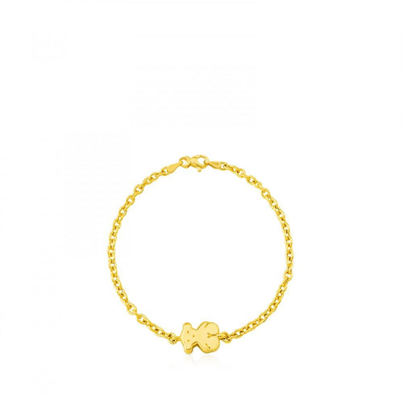 Tous Gold Sweet Dolls Bracelet 915901400