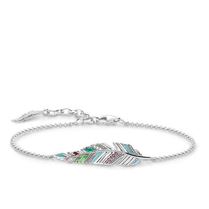 "Thomas Sabo Bracelet ""Feather"" A1749-340-7"