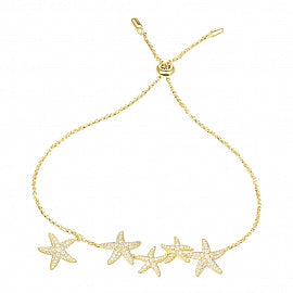 APM Yellow Starfish Bracelet AB3384OXY