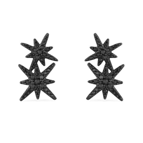 APM EARRING BLACK AE9784BZT