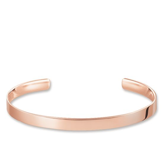 Thomas Sabo Bangle Love Cuff Rose Gold  AR087-415-12