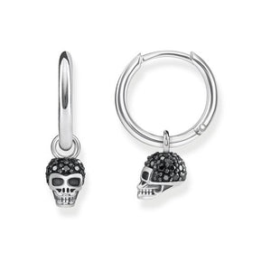 "Thomas Sabo Hoop Earrings ""Skull"" CR623-643-11"