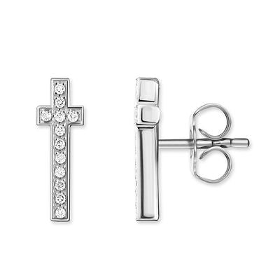 Thomas Sabo Earring Studs Studs Cross D_H0011-725-14