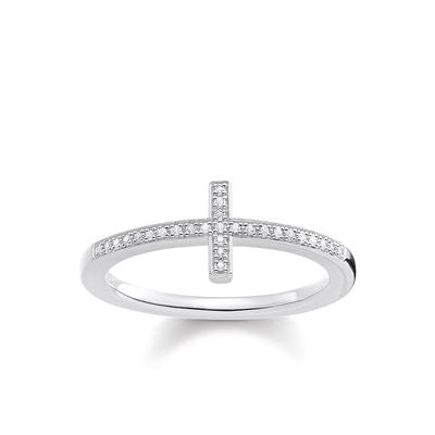 Thomas Sabo Women's Ring Cross D_TR0028-725-14