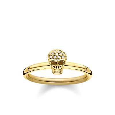 Thomas Sabo Women's Ring Skull D_TR0030-924-39