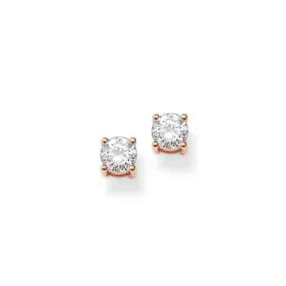 Thomas Sabo Glam And Soul Cubic Zirconia Earrings H1739-416-14