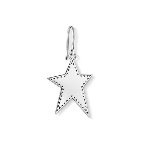 "THOMAS SABO EARRING ""STAR"" H2019-648-21"